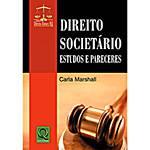 Livro - Direito Societário - Estudos e Pareceres