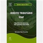 Livro - Direito Tributário: Esaf - Questões de Concursos com Gabarito Comentado