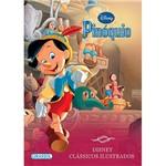 Livro - Disney - Pinóquio -Clássicos Ilustrados