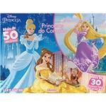 Livro - Disney Princesa: Princesas do Coração Ler e Pintar