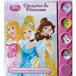 Livro - Disney Princesas: Corações de Princesas - Livro Pop-up Musical