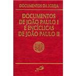 Livro - Documentos de João Paulo I e Encíclicas de João Paulo II