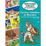 Livro - Doze Trabalhos de Hércules em Quadrinhos, os
