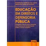 Livro - Educação em Direitos e Defensoria Pública