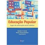 Livro - Educação Popular: Lugar de Construção Social Coletiva