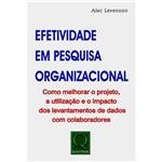 Livro - Efetividade em Pesquisa Organizacional