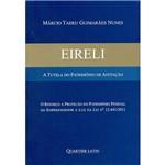 Livro - Eireli: a Tutela do Patrimônio de Afetação