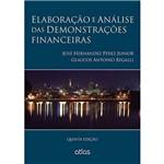 Livro - Elaboração e Análise das Demonstrações Financeiras
