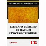 Livro - Elementos de Direito do Trabalho e Processo Trabalhista