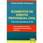 Livro - Elementos de Direito Processual Civil - à Luz da Jurisprudência do STJ