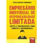 Livro - Empresário Individual de Responsabilidade Limitada