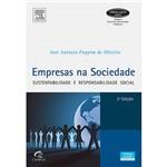 Livro - Empresas na Sociedade: Sustentabilidade e Responsabilidade Social