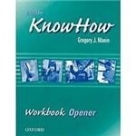 Livro - English KnowHow: Workbook Opener