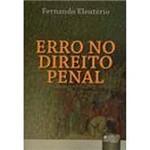Livro - Erro no Direito Penal