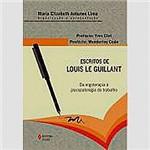 Livro - Escritos de Louis Le Guillant