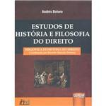 Livro - Estudos de História e Filosofia do Direito
