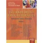 Livro - Estudos em Direito, Política e Literatura: Hermenêutica, Justiça e Democracia - Volume 1