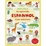 Livro - eu Aprendo Espanhol com Adesivos - Coleção Edições Usborne