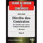 Livro - Exame de Ordem & Concursos: Direito dos Contratos - Volume III