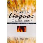 Livro - Falar em Linguas: o Maior Dom?