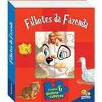 Livro - Filhotes da Fazenda (Janelinhas de Animais)