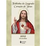 Livro - Folhinha do Sagrado Coração de Jesus 2012 - Livro de Bolso
