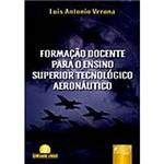 Livro - Formação Docente para o Ensino Superior Tecnológico Aeronáutico