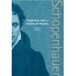Livro - Fragmentos Sobre a Historia da Filosofia