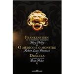 Livro - Frankenstein ou o Prometeu Moderno, o Médico e o Monstro, Drácula