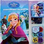 Livro - Frozen: Aventureiros em Ação - Livro com Projetor