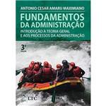 Livro - Fundamentos da Administração: Introdução à Teoria Geral e Aos Processos da Administração