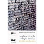 Livro - Fundamentos da Tradução Jurídica: Alemão - Português