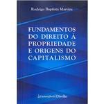 Livro - Fundamentos do Direito à Propriedade e Origens do Capitalismo