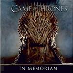Livro - Game Of Thrones: In Memoriam