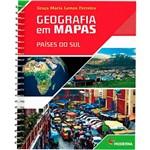 Livro - Geografia em Mapas: Países do Sul