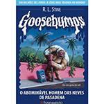 Livro - Goosebumps 20 - o Abominável Homem das Neves de Pasadena