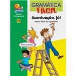Livro - Gramática Fácil: Acentuação, Já!