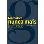 Livro - Gramática - Nunca Mais