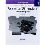 Livro - Grammar Dimensions - Workbook - Form, Meaning, Use