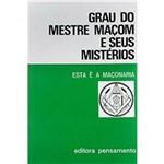 Livro - Grau do Mestre Maçom e Seus Mistérios