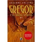Livro - Gregor e as Marcas Secretas - Coleção as Crônicas de Gregor - Vol. 4