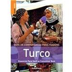 Livro - Guia de Conversação para Viagens Turco - Essencial para Você se Comunicar Bem