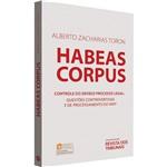 Livro - Habeas Corpus: Controle do Devido Processo Legal