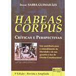 Livro - Habeas Corpus - Críticas e Perspectivas