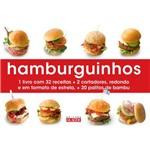 Livro Hamburguinhos - Acompanha 2 Cortadores