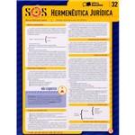 Livro - Hermenêutica Jurídica - SOS - Sinteses Irganizadas Saraiva - 32