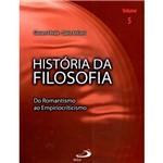 Livro - História da Filosofia - do Romantismo ao Empiriocriticismo - Vol.V