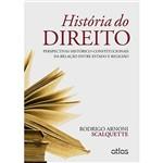 Livro - História do Direito: Perspectivas Histórico-Constitucionais da Relação Entre Estado e Religião
