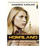 Livro - Homeland: Como Tudo Começou - a História de Carrie