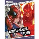 Livro - Homem-Aranha e Flash